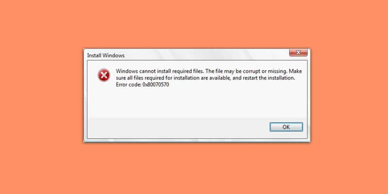 error 0x80070570